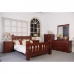 Chunky Solid timber Bedroom Suite